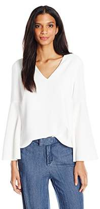 Cooper & Ella Women's Marcela Drape Sleeve Top