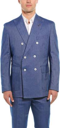 Michael Bastian Michael Bastion 2Pc Slim Fit Wool Suit