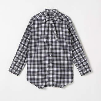 Heliopole (エリオポール) - HELIOPOLE THOMAS MASON コットンチェックボウタイシャツ