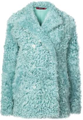 Sies Marjan sheepskin double breasted coat