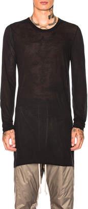 Rick Owens Basic Long Sleeve Tee