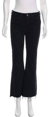 MiH Jeans Mid-Rise Wide-Leg Jeans