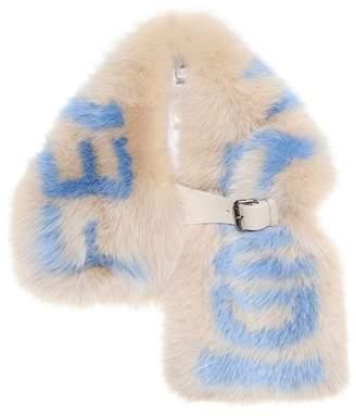Fendi Fur scarf