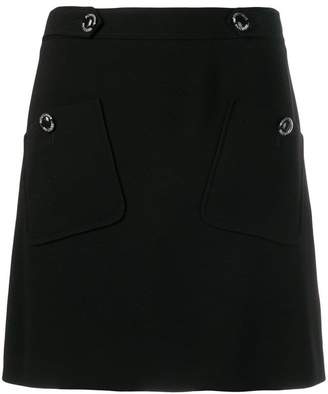 Moschino high rise mini skirt