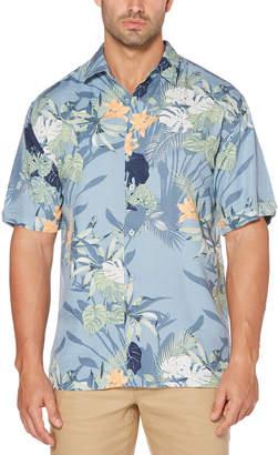 Cubavera Tropical Floral Print Shirt