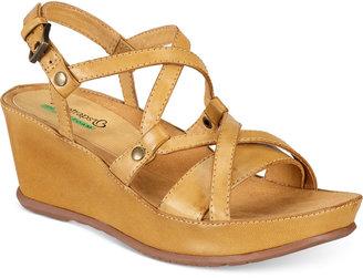 Bare Traps Lotti Wedge Sandals Women's Shoes $69 thestylecure.com