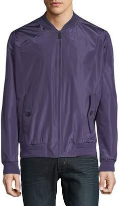 Brioni Men's Silk Bomber Jacket