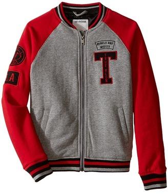 True Religion Kids Fleece Letterman Jacket (Toddler/Little Kids) $119 thestylecure.com