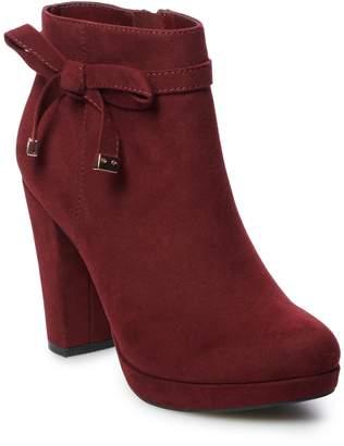Lauren Conrad Leche Women's Ankle Boots