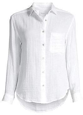 Rails Women's Ellis Linen Button-Down Shirt