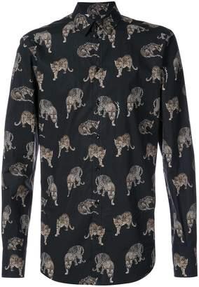 Dolce & Gabbana classic leopard print shirt
