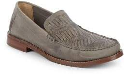 Tommy Bahama Felton Perforated Leather Loafers