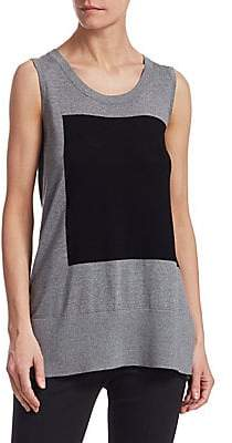 46d860b96aced Akris Punto Women's Colorblock Tank Top