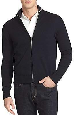 Victorinox Men's Front Zip Cardigan