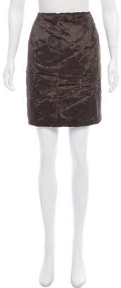 ICB Faux Fur Mini Skirt