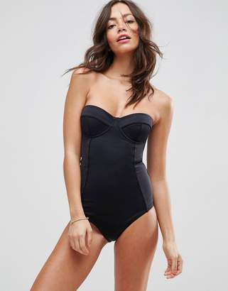 Asos DESIGN 'Sculpt Me' Control Cupped Supportive Swimsuit