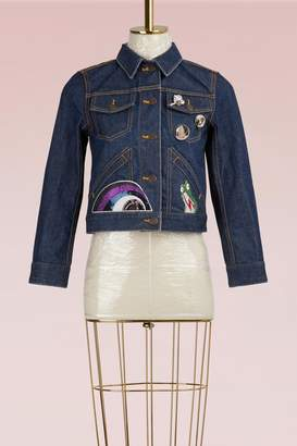 Marc Jacobs Shrunken Denim Jacket