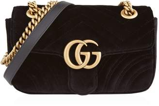 Gucci Mini Marmont Matelasse Shoulder Bag
