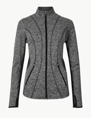 Marks and Spencer Jaspe Quick Dry Long Sleeve Jacket