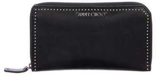 Jimmy Choo Leather Studded Wallet