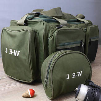 3771bdac8859 Duncan Stewart Personalised Fishing Holdall And Reel Case