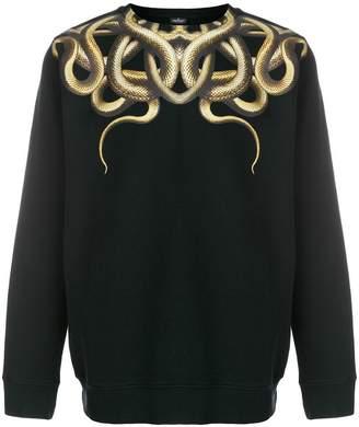 Marcelo Burlon County of Milan Snakes crew neck sweatshirt