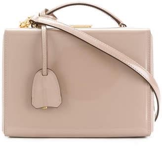 Mark Cross open-top mini-luggage handbag