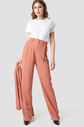 MANGO Pinky Trousers Terracotta