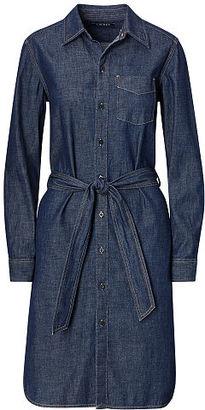 Ralph Lauren Denim Shirtdress $125 thestylecure.com