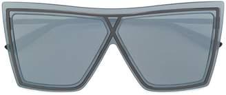 Christian Roth Eyewear oversized square-frame sunglasses