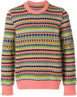 Stella McCartney striped patterned sweater