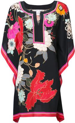 Trina Turk floral print kaftan dress