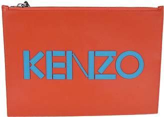 Kenzo Logo Clutch