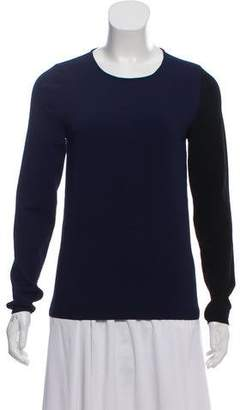 Cédric Charlier Two-Tone Knit Top