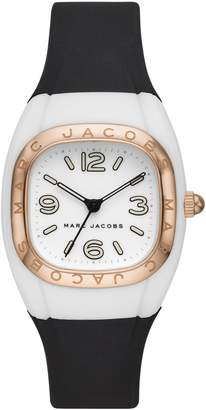 Marc Jacobs Unibody Silicone Strap Watch, 36mm