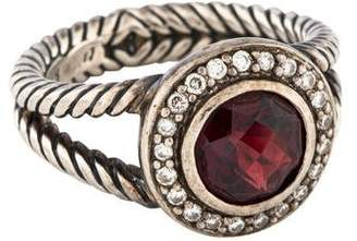 David Yurman Garnet & Diamond Cerise Ring