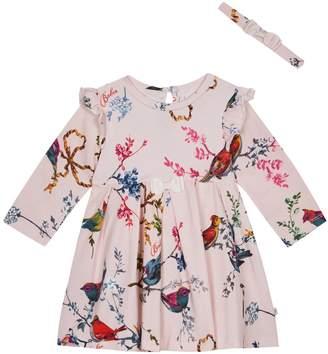 b50837d81 Next Girls baker by Ted Baker Baby Girls Jersey Frill Dress And Headband