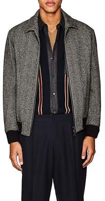 TOMORROWLAND Men's Eisenhower Wool Herringbone Jacket