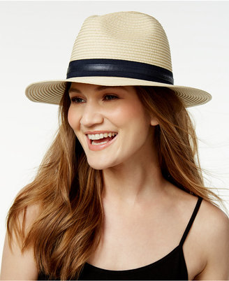 Vince Camuto Double Band Panama Hat $32 thestylecure.com
