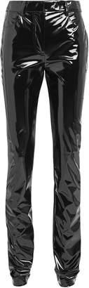 Tibi Tech Patent Vegan Leather Pants