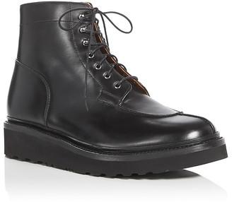 Grenson Grover Apron Toe Platform Boots $415 thestylecure.com