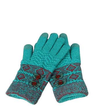 Victoria Leland Designs Knit Texting Gloves