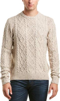 Original Penguin Fish Wool-Blend Sweater