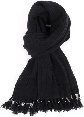 Quinn Cashmere Knit Stitch Wrap