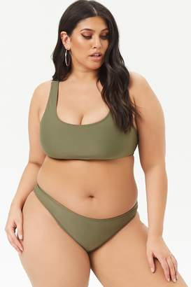 2dcccc855c062 Forever 21 Plus Size Swimsuits - ShopStyle Canada