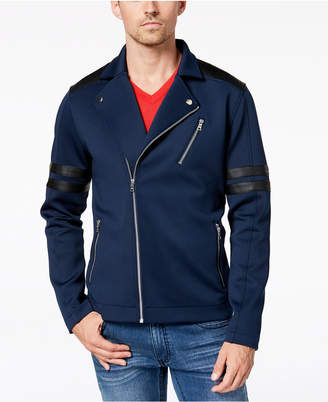 INC International Concepts I.n.c. Men's Anatomy Biker Jacket