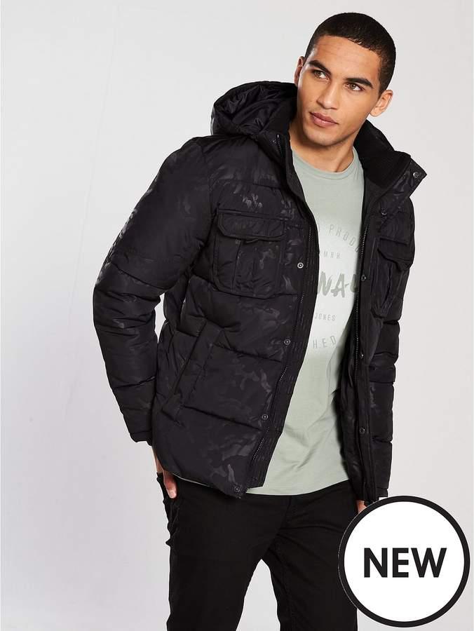 Core New Will Camo Print Jacket