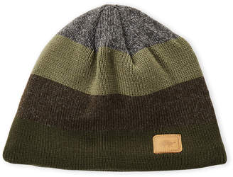 Turtle Fur Stripe Knit Beanie