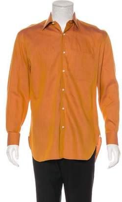 Borrelli Button-Up Dress Shirt