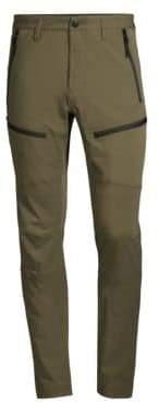 Stone Island Tape Zip Skinny Cargo Pants